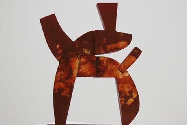 Lee Kelly  Cast bronze sculpture   January 7 - 30, 2010