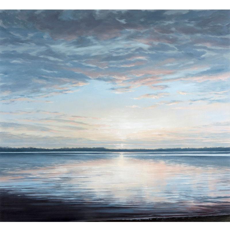 "Lucere , 2016 oil on linen  36 x 36""  Inquire >"