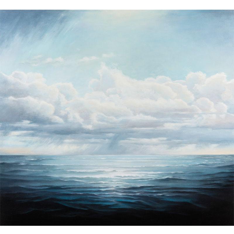 "Wellspring , 2016 oil on linen 36 x 36""  Inquire >"