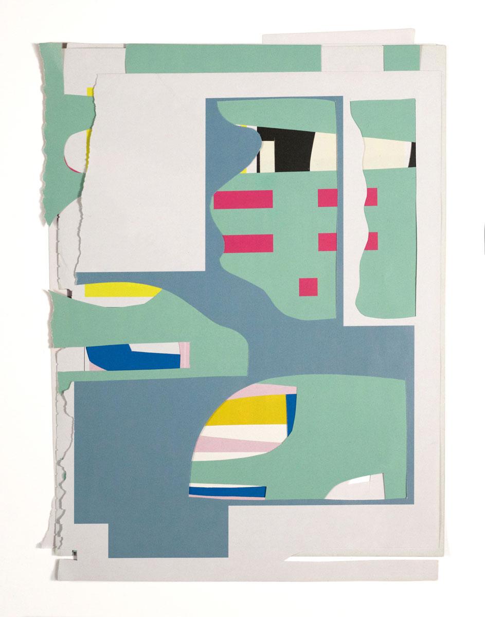 "Untitled (AM2) , 2018 archival digital print 16.5 x 13.5""  Edition of 3"