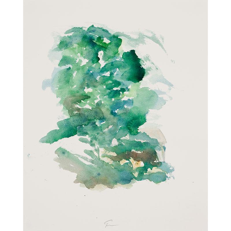 "Aguila, Spain , 2009 watercolor on paper 20.5 x 16.25"" paper  Inquire >"