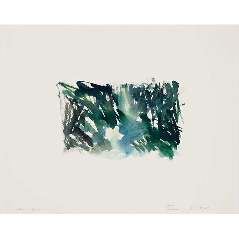 "Estudio Espania , 2010 watercolor on paper 16.25 x 20.5"" paper  Inquire >"