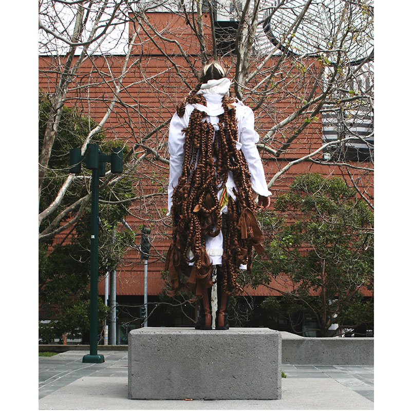 I still feel the same , 2008 synthetic hair dimensions variable: 2 parts each 150'  Inquire >