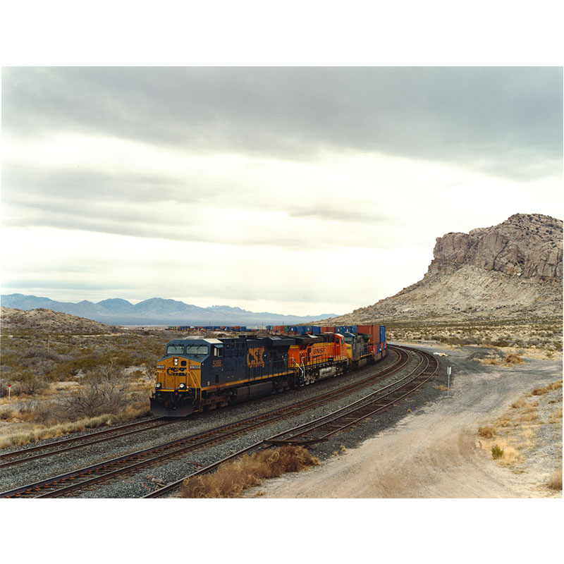 "Ghost Town CSX, Stein , 2007 c-print 14.5 x 19"" image 15.25 x 19.75"" framed Edition of 6  Inquire >"