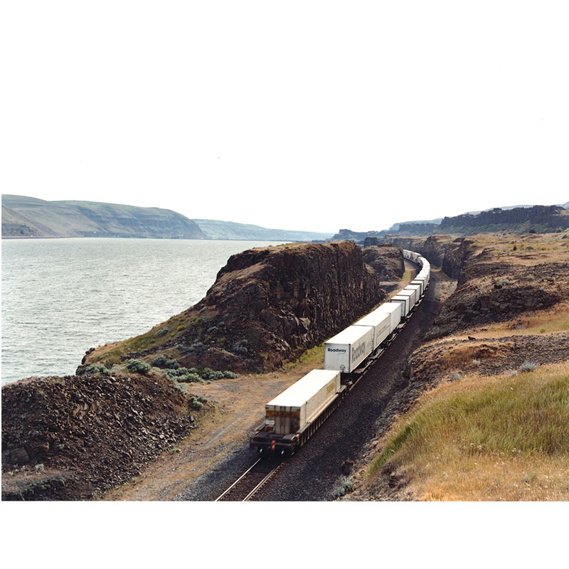 "UP on the Columbia River, Maryhill , 2009 digital c-print 24 x 31.5"" image 25 x 32.5"" framed Edition of 6  Inquire >"