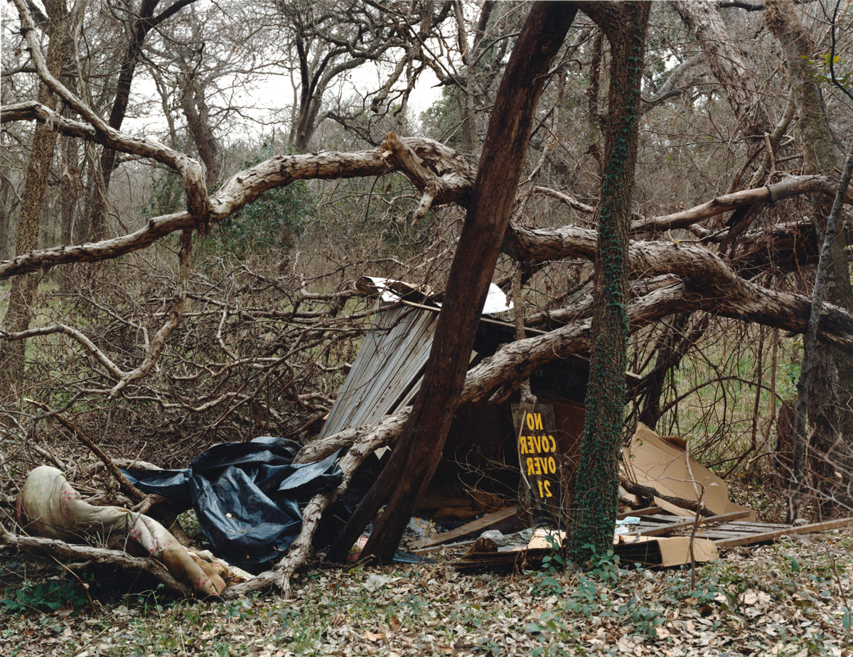 """No Cover Over 21, Austin , 2007 c-print 18 x 23.5"""" image 19 x 24.25"""" framed Edition of 6"""