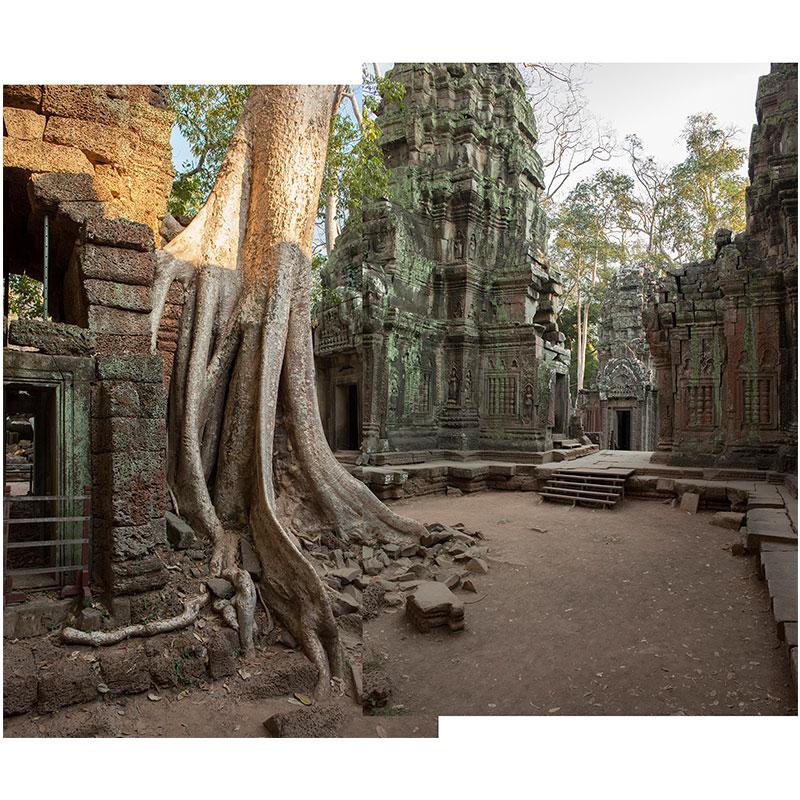 "Angkor l , 2018 assembled archival inkjet print 19 x 22"" image  Inquire >"