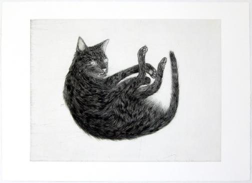 "Ginzer , 2000 etching and aquatint 22.5 x 31"" Edition of 24"