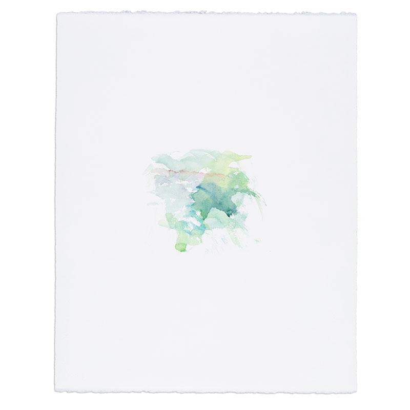 """Casa , 2017 watercolor on paper 20.5 x 16.25"""" paper  Inquire >"""