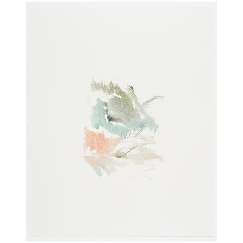 "Silver Point Studio , 2015 watercolor on paper 20.5 x 16.25"" paper  Inquire >"