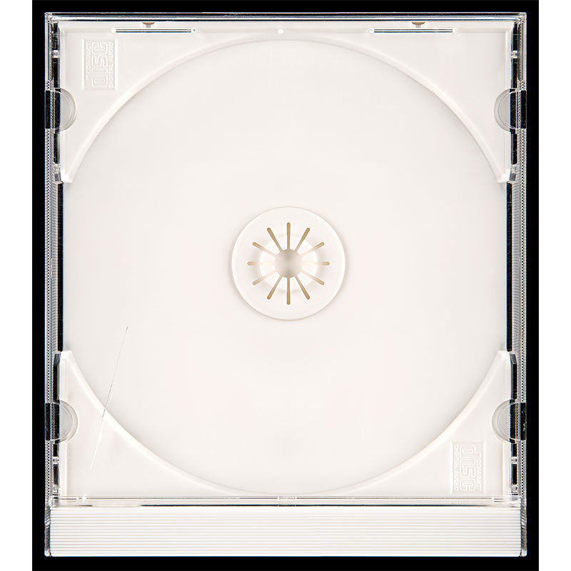 """Untitled  (cd case), 2018 photographic construction 66.5 x 59"""" image 68 x 60.75"""" framed Edition of 5, 2AP  Inquire >"""