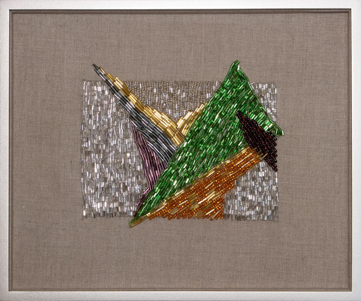 """Subarite #3 , 2019 embroidery 10.75 x 13"""""""