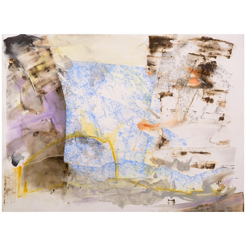 "Intrusion , 2019 pastel, colored pencil, silver sumi ink and graphite on paper 22 x 30"" paper  Inquire >  SOLD"
