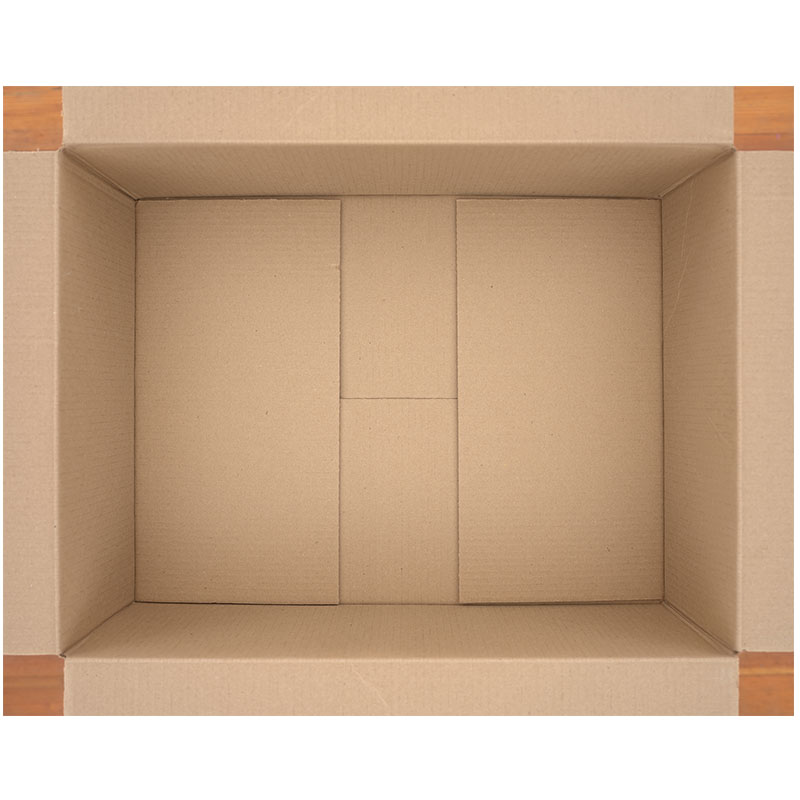 "Untitled  (cardboard box), 2018 photographic construction 34 x 42"" image 35.25 x 43.75"" framed Edition of 5, 2AP  Inquire >"