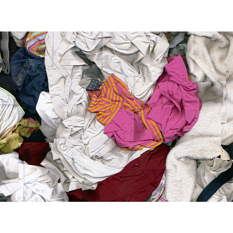 "Laundry , 2007 photographic construction, archival inkjet print 48 x 35"" Edition of 5, 2AP  Inquire >"