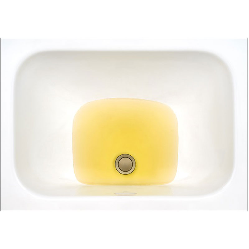 "Untitled  (yellow sink), 2013 photographic construction, archival inkjet print 22.75 x 32.5"" Edition of 8, 2AP  Inquire >"