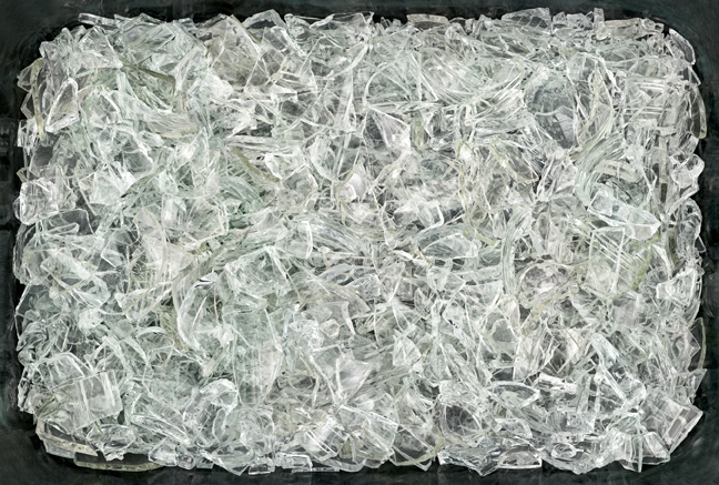 "12 Glasses , 2011 archival inkjet print 59.5 x 88"" image 60.25 x 88.75 x 3"" framed Edition of 3, 2AP"