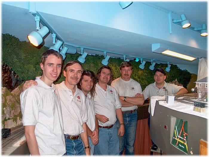 Joel Stewart, David Stewart, Jay Barnaby, Bob Sobol, Vince Griesemer, Rick Bacon