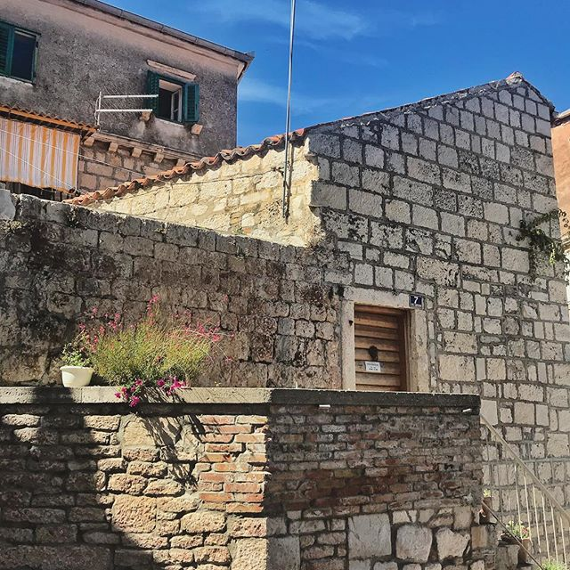 #Vis shapes and shadows . . . #croatia #architecture #travel #travelphotography