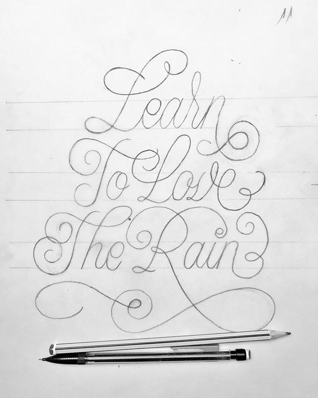Work in progress . . . #process #wip #letteringonsunday #type #typography #handdrawntype #customtype #lettering #customlettering #handlettering #strengthinletters #calligraphy #calligritype #calligraphymasters # #thedailycalligraphy #script #font #handmadefont @handmadefont #typedaily #thedailytype @thedailytype #typographyinspired #artoftype @designspiration #penmanship