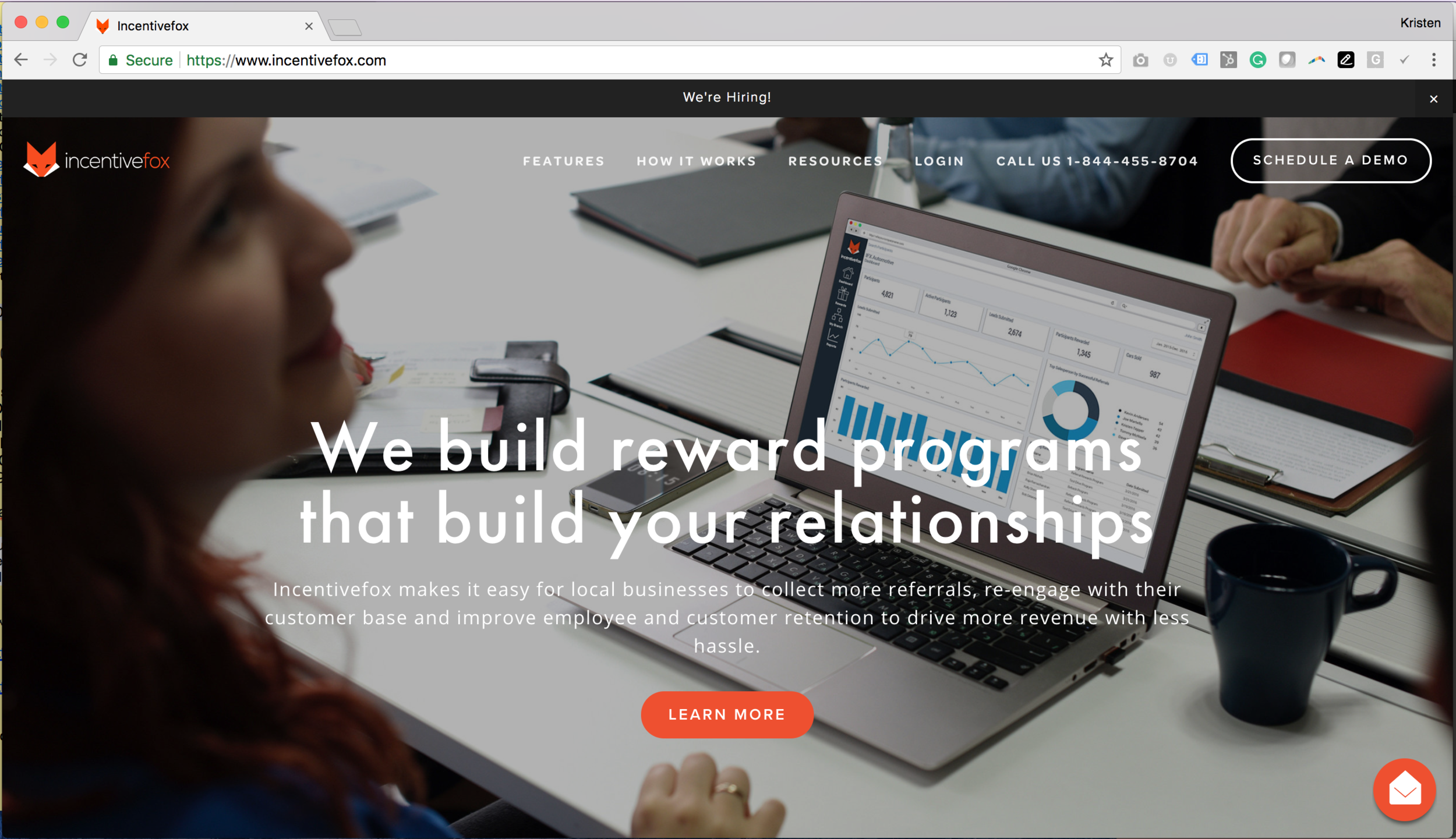 Incentivefox Referral and Relationship Platform