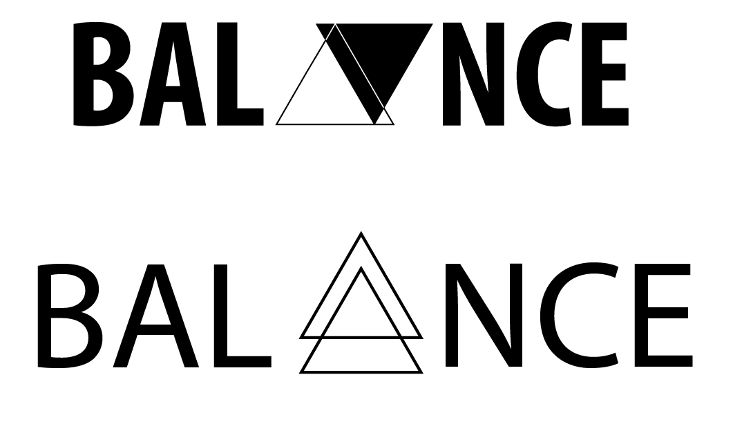 This logo is for a mock company I thought of called Balance. The idea behind this design is to focus on a modern style brand for a skateboarding company. The idea came from skateboarding provide balance to my life, and me wanting to share that with others.