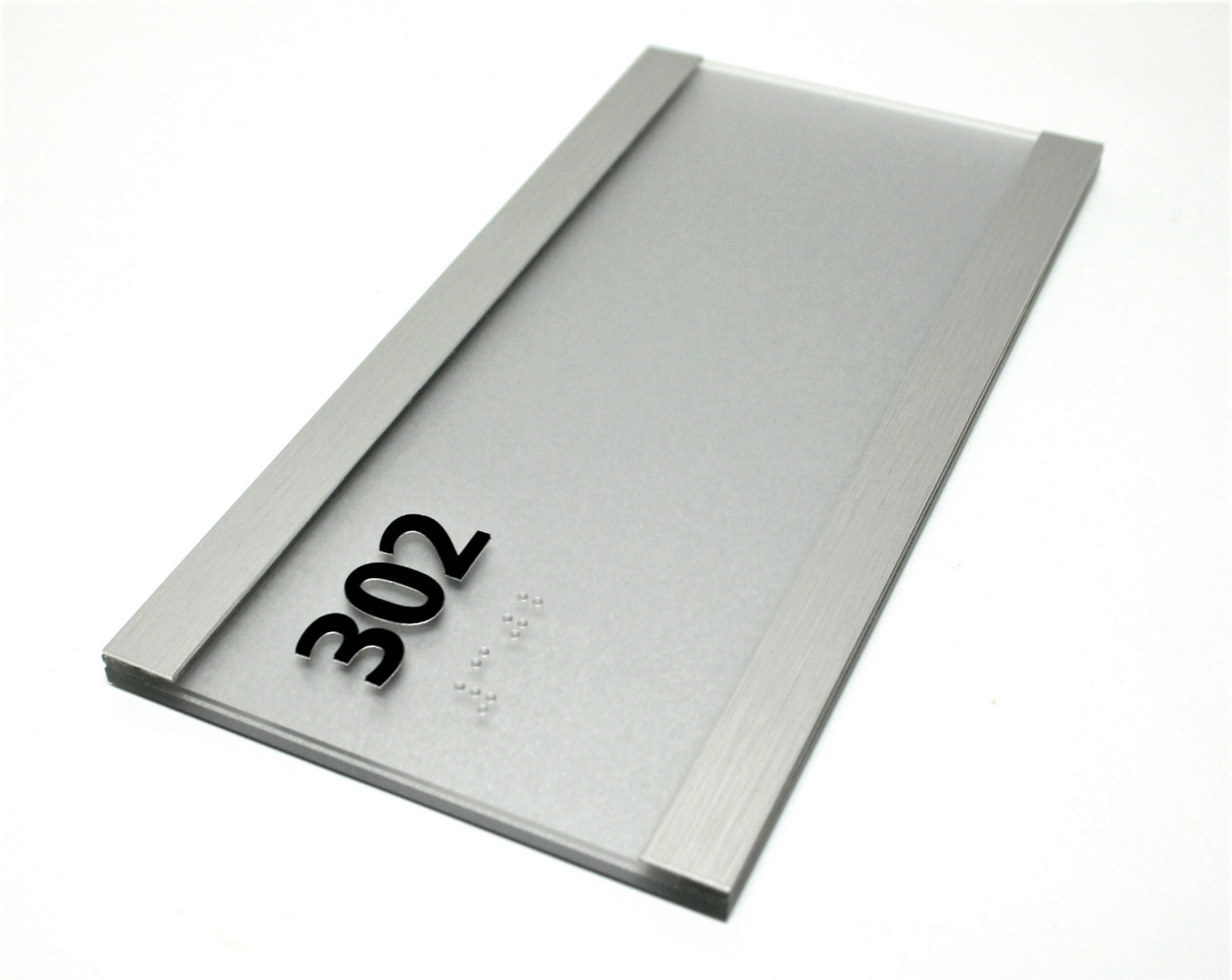 aluminum glass window updateable ada sign wholesale