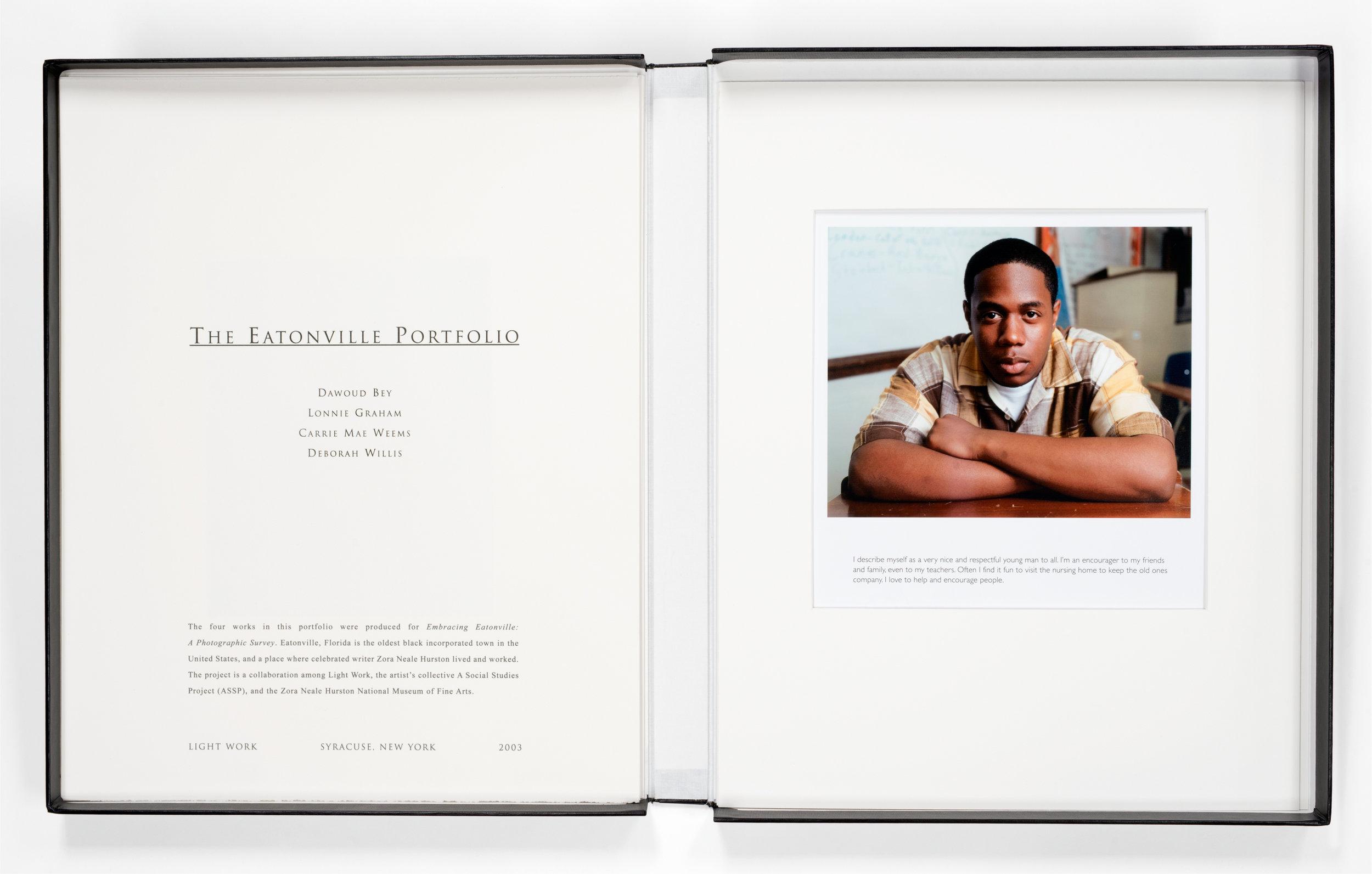 The Eatonville Portfolio (Dawoud Bey, Lonnie Graham, Carrie Mae Weems, Deborah Willis)