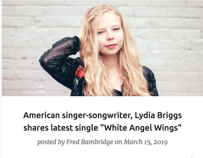 American singer-songwriter, Lydia Briggs shares latest single