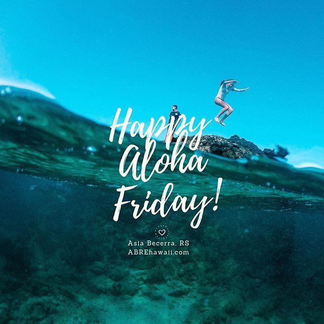 Aloha Friday🤙🏾 ready to jump into the Easter Weekend   📸: @avanmakoa