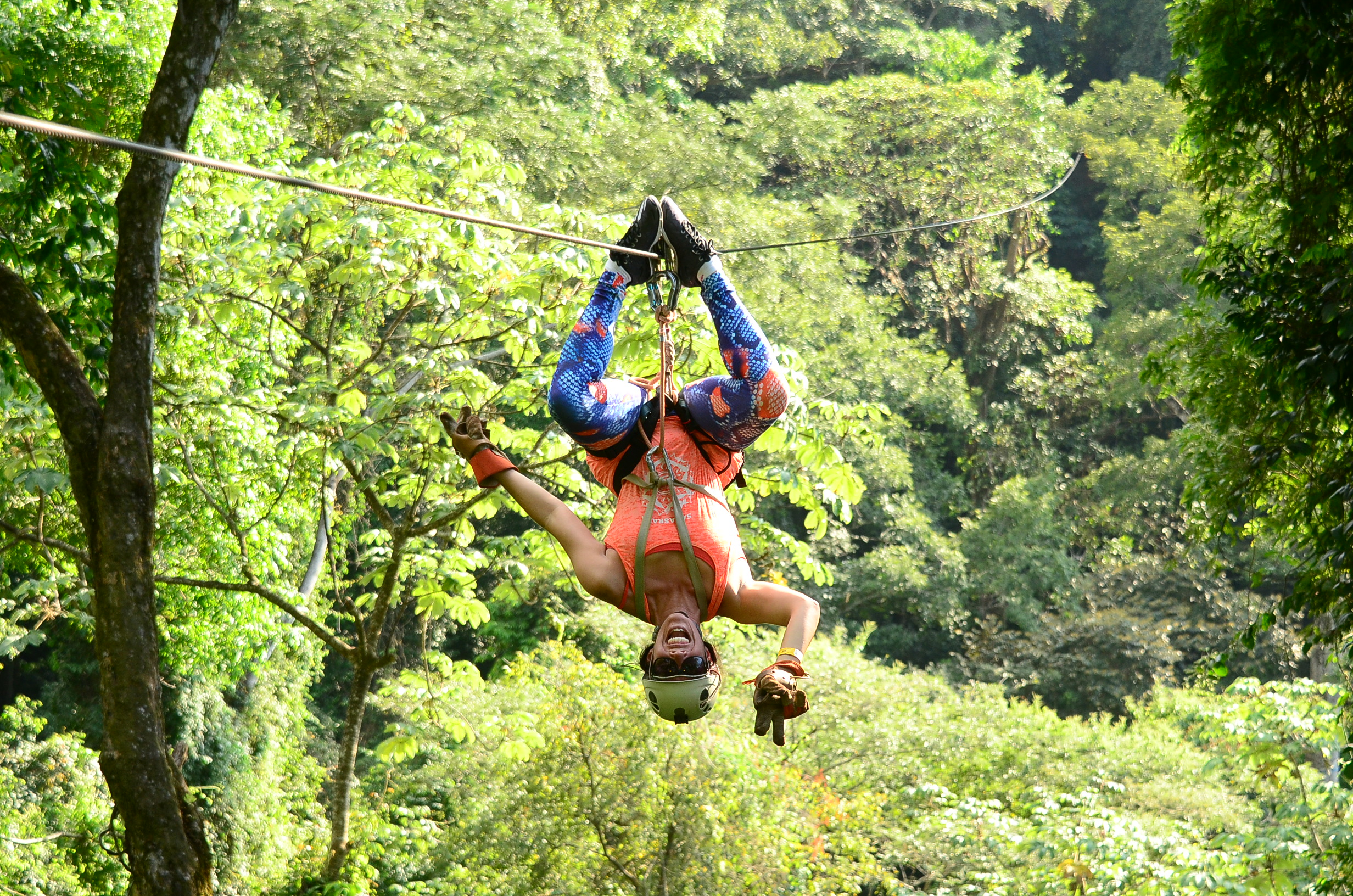 Canopy Tour - Fly through the jungle