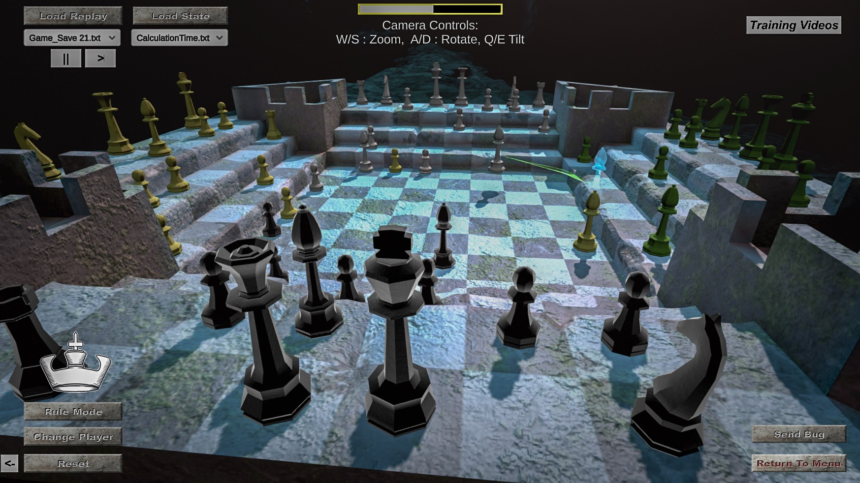 Four Kings One War Chess variant training