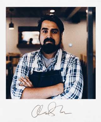Chef Andre Molina - Intero