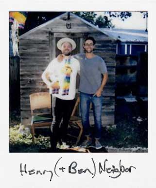 Henry + Ben's backyard -