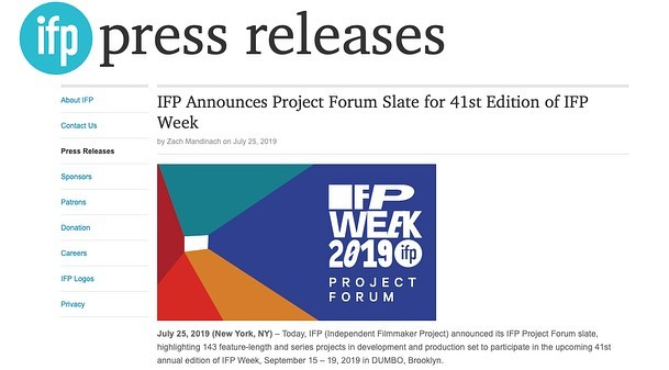 Birdy Fox is elated to announce that our dark comedy pilot has been selected to showcase at this year's IFP Project Forum in September!! Off to NYC we go! 🎉 Huge thanks to our team @channingadler @thepunctum @karmendann and of course to @ifpfilm 💕