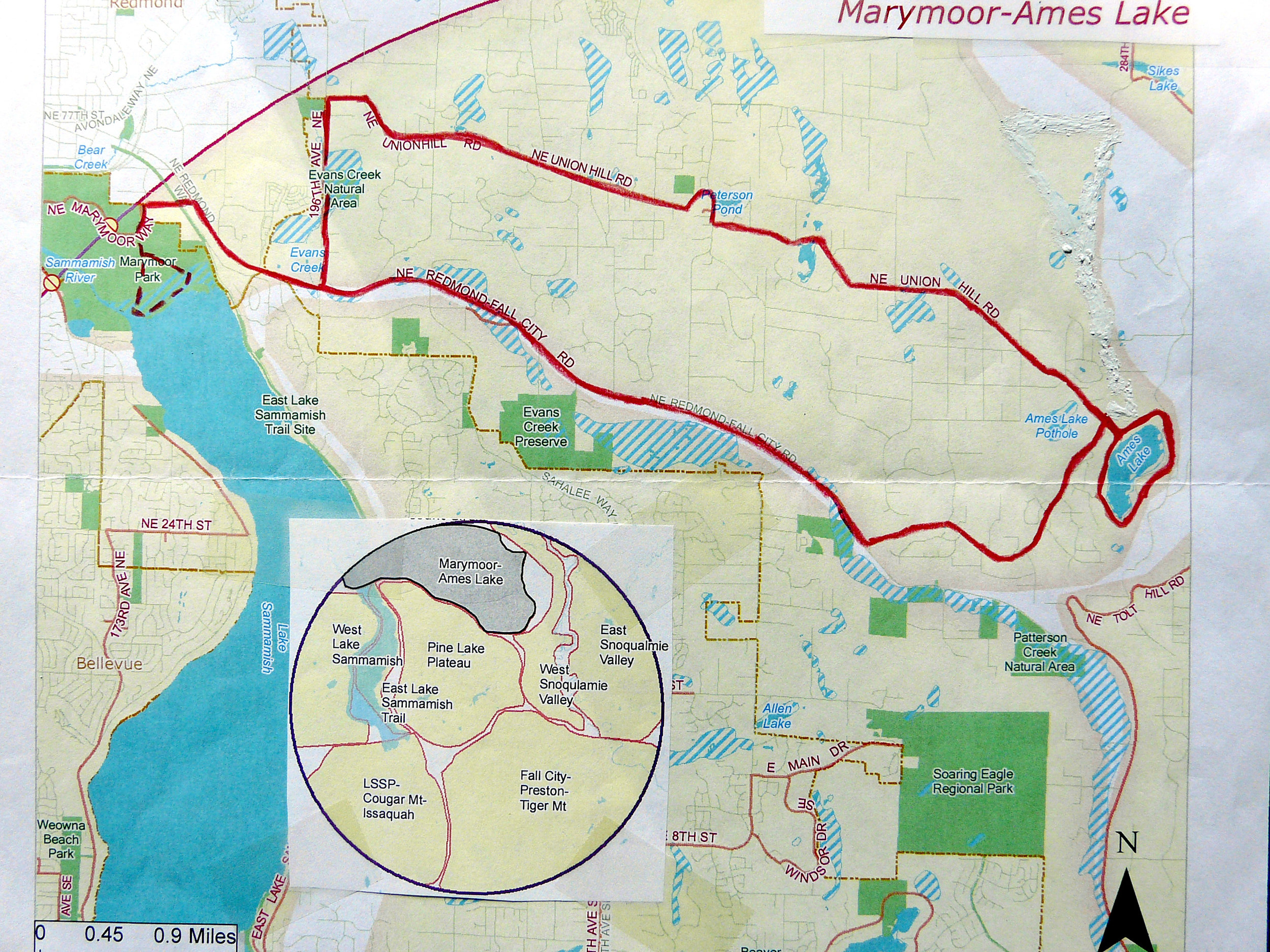 Marymoor Park and Rowing Club - 8 am to 1 pmWe walk the park (about 3.5 miles) and then make a short drive to the Rowing Club to finish walking our route there (1/2 mile).Team leader: Brian Bell, 425-485-8058 or bellasoc@isomedia.com
