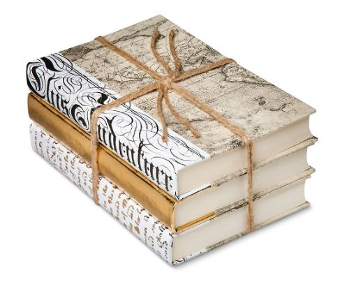 Gold Mix Decorative Book Set