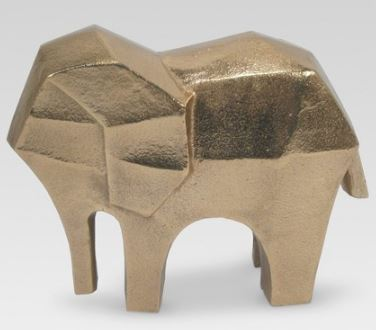 Elephant Figure Gold