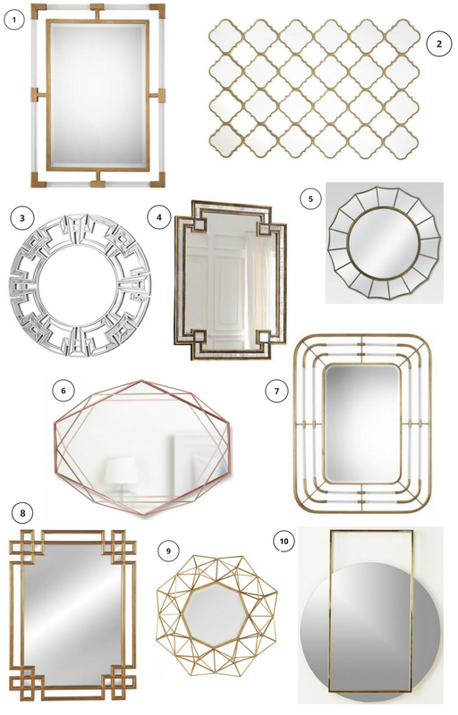 Glam Wall Mirrors