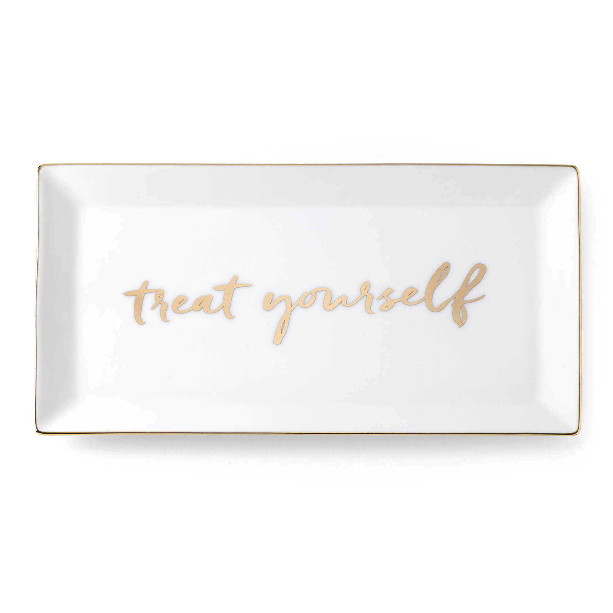 Gold Treat Yourself Tray