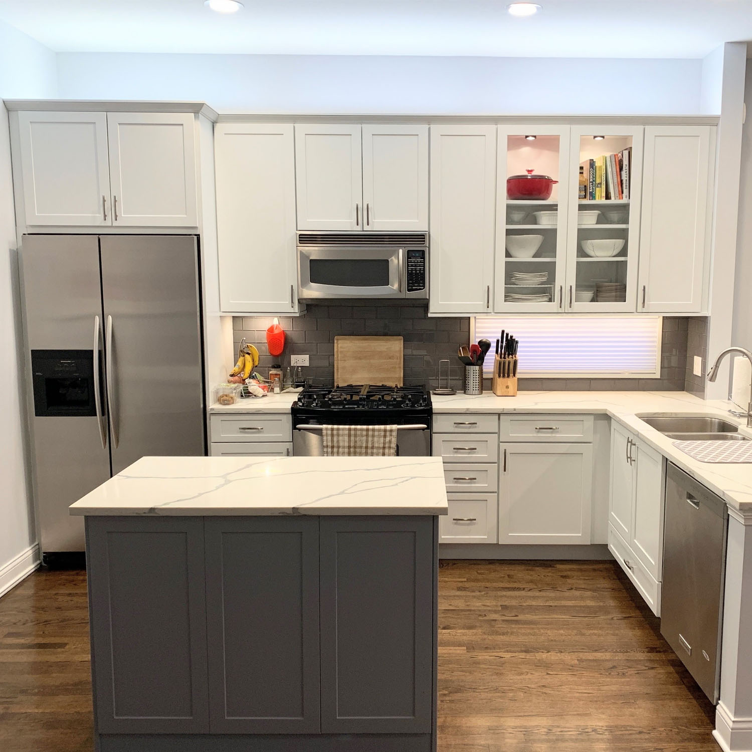 Whittaker Interiors White Kitchen
