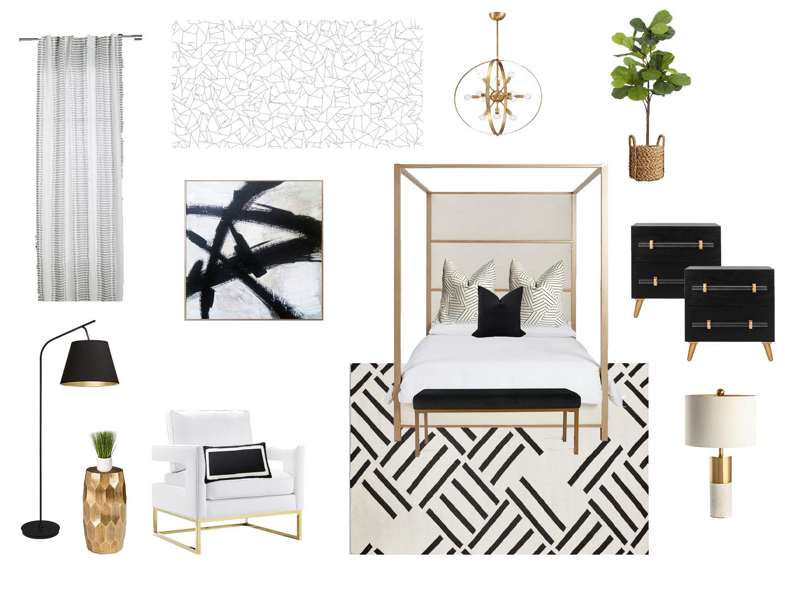 Whittaker Interiors Design Concept Board E-Design