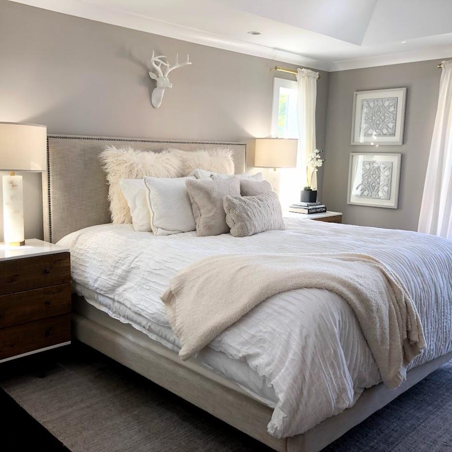 Whittaker Interiors Neutral Bedroom