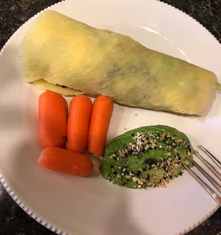 One of my Christian Health Club members created this delicious sammie with a folio wrap!