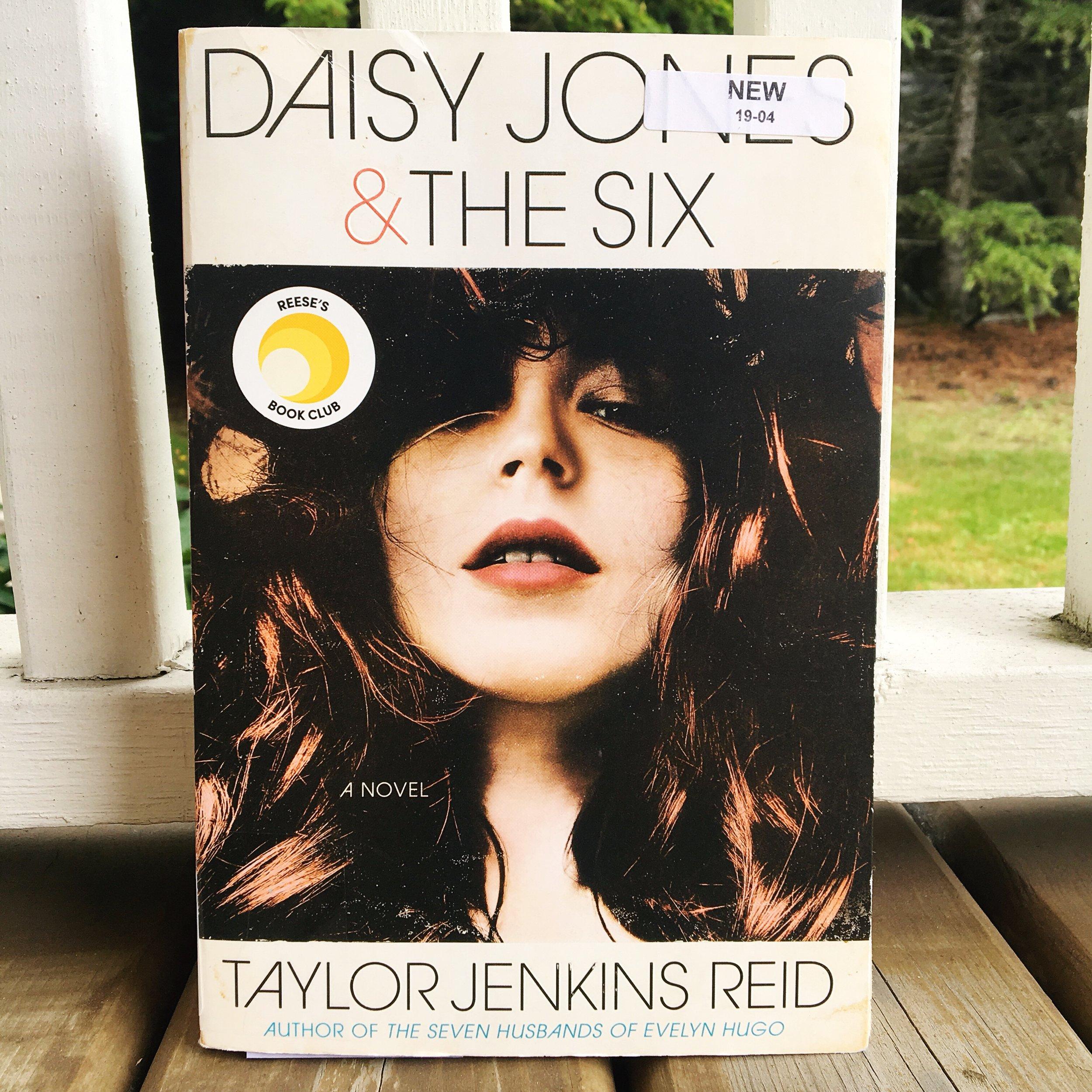 The Final Biannual Bibliothon TBR - Daisy Jones & The Six.JPG