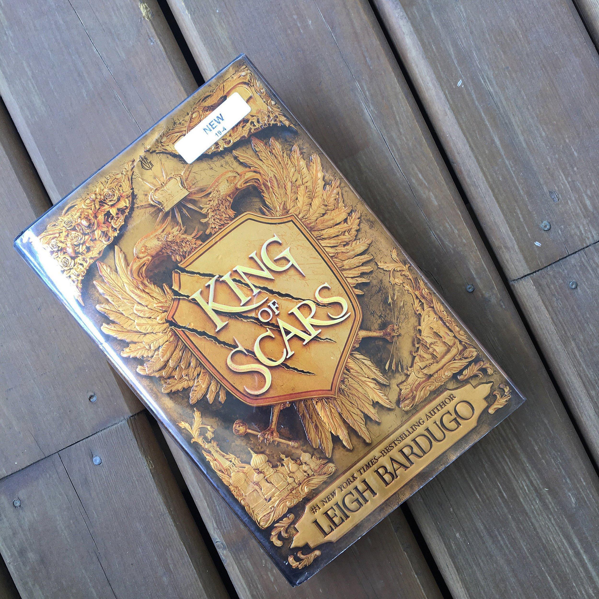 August TBR - King of Scars.JPG