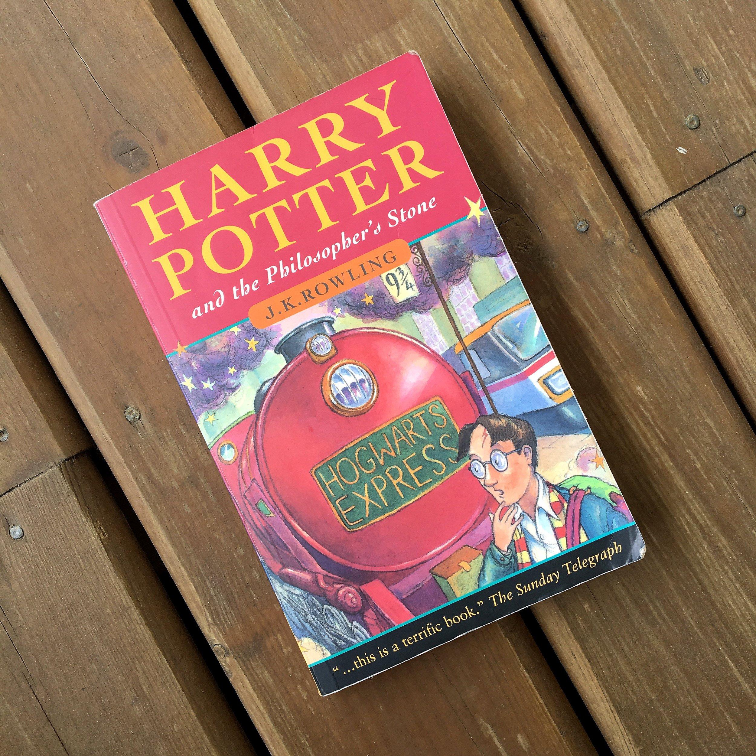 August TBR - Harry Potter.JPG