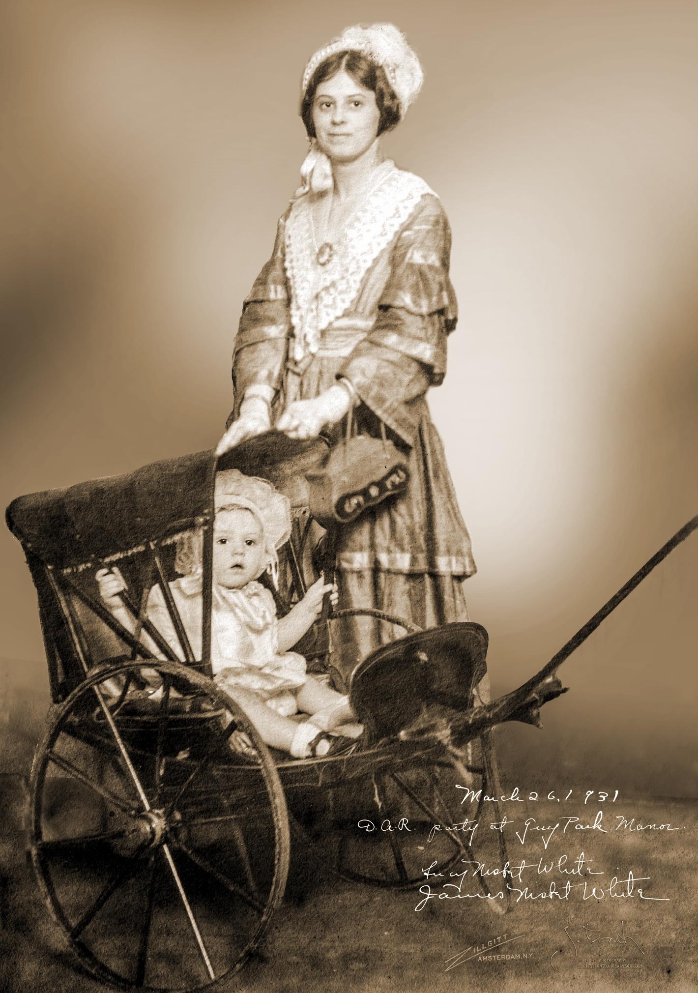 Helen White - Mother Moved Behind Stroller Sepia 5.25x7.25 300ppi 10-5-2017.jpg