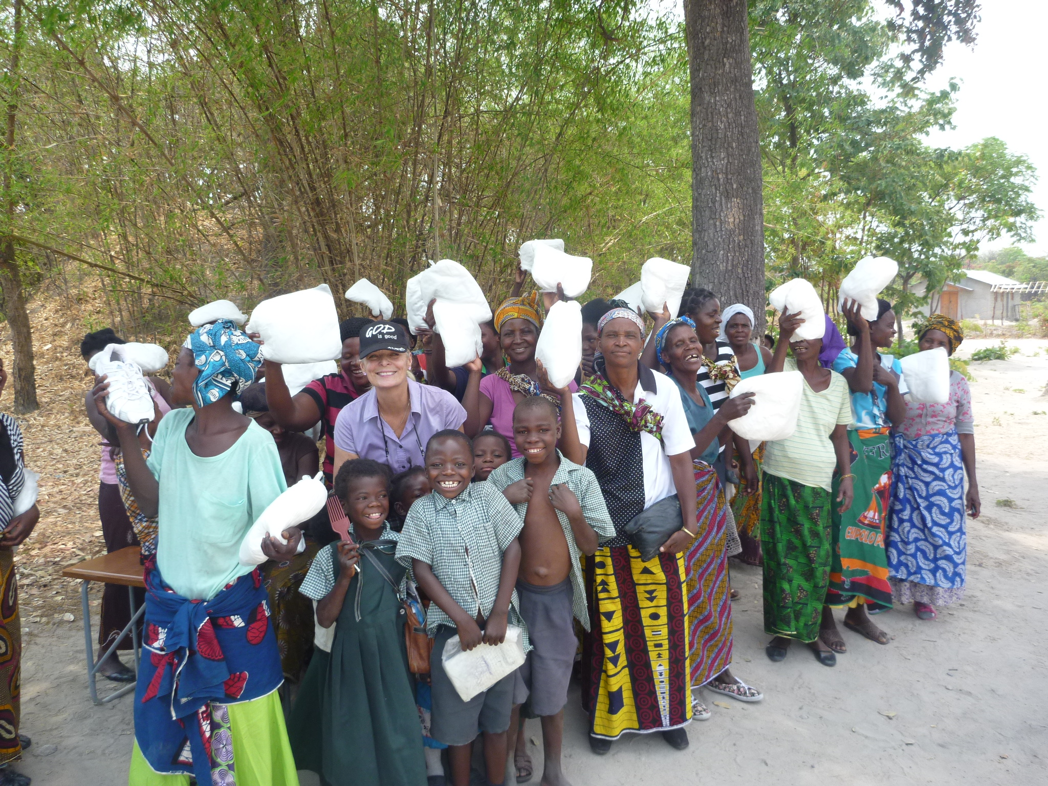 September - 166 mosquito netsdistributed for protection against malaria—a killer of villagers. This was made possible by the fundraising efforts of the Moms Group at Caledonia Presbyterian Church.(blog post)
