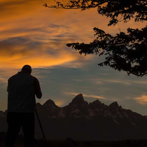 Photographing the Tetons in Jackson, WY